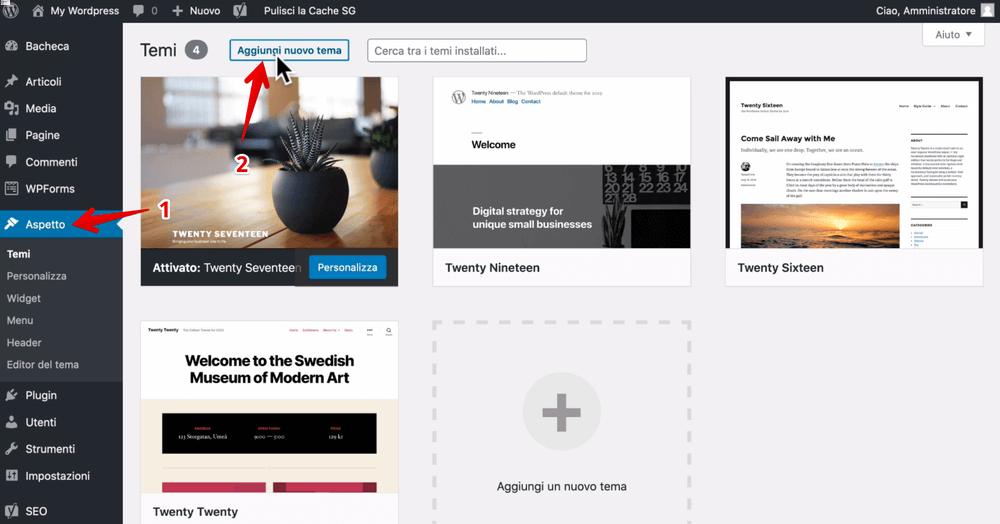 Cómo instalar un tema en wordpress - Tutorial de hospedaje de siteground - crear un blog y convertirse en un blogger (1)