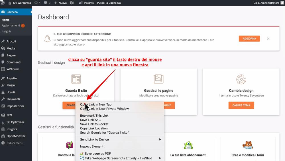 Come installare wordpress su siteground - siteground sitetools tutorial - tecniche e metodi per guadagnare con un blog - (1)