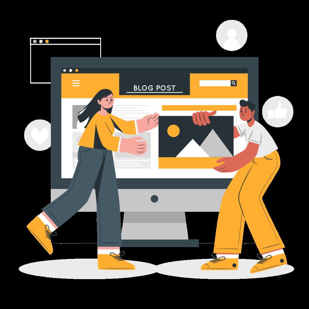 cómo empezar un blog y crear un sitio web para ganar dinero en línea - convertirse en un blogger