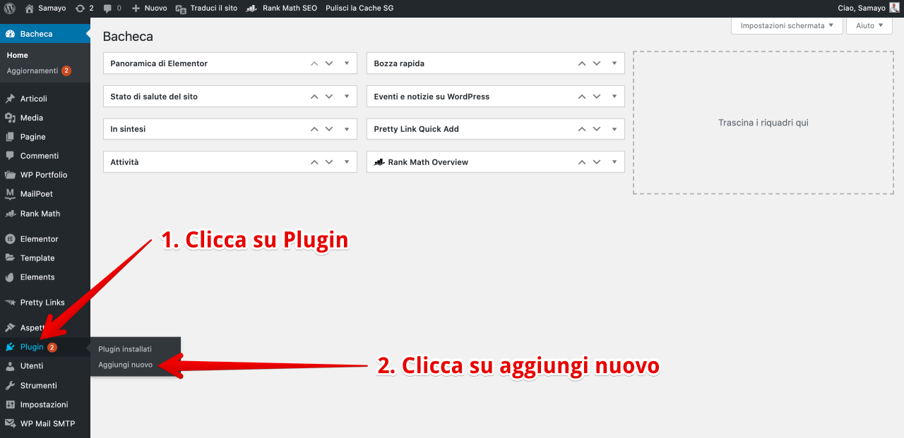 How to install a plugin on wordpress - installing a plugin in wordpress
