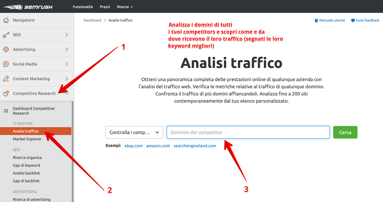 How to use SEMrush to increase blog traffic - competitor traffic analysis and keyword research (1) (2)