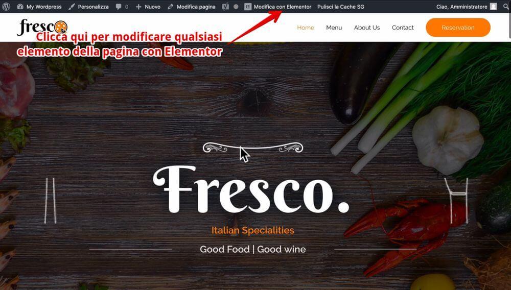 Cómo usar elementor para editar una página en wordpress - cómo crear un sitio web de blog