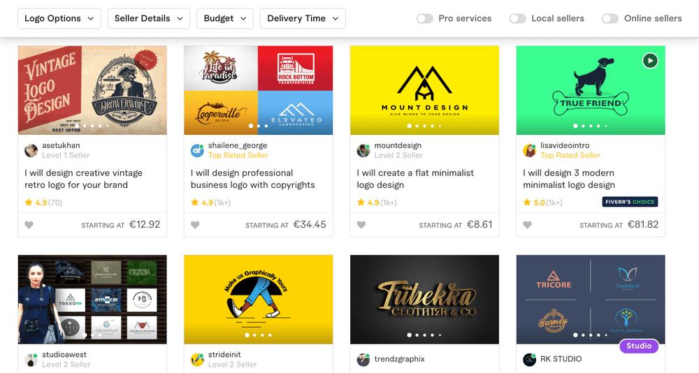 Crear un logo con fiverr italia - cómo comprar conciertos en fiverr