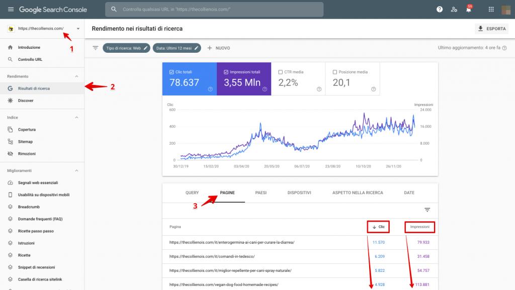 Informe de rendimiento de la consola de búsqueda - Conceptos básicos de SEO, OPTIMIZACIÓN PARA LOS MOTORES DE BÚSQUEDA (1)