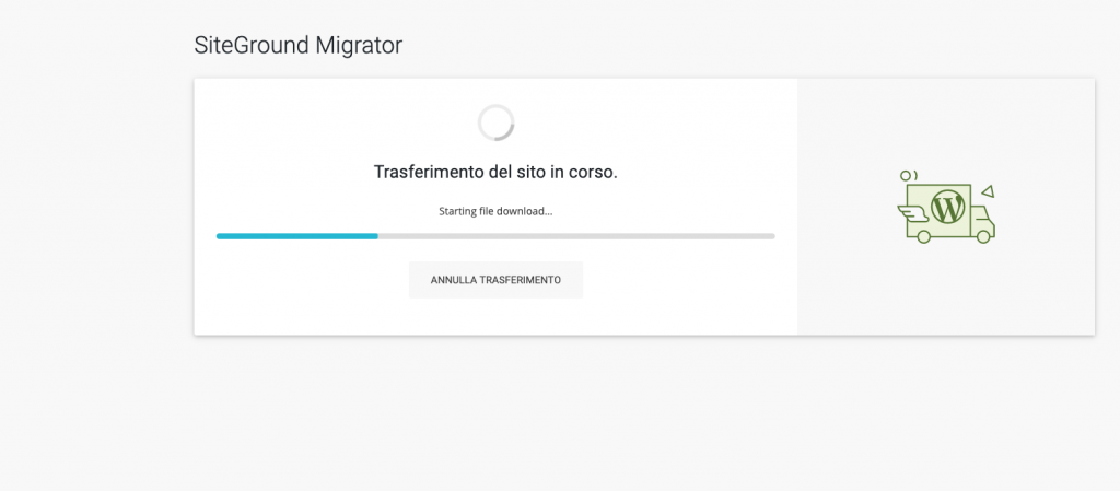 Come installare siteground migrator su un sito wordpress - tutorial siteground italiano
