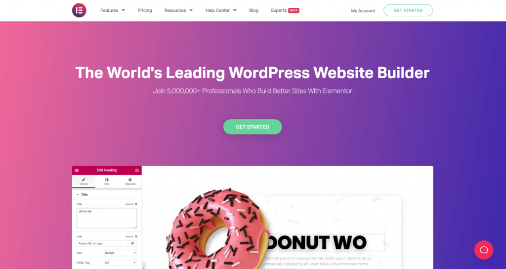 Come usare Elementor Pro per creare una landing page su WordPress - Elementor- #1 Free WordPress Website Builder