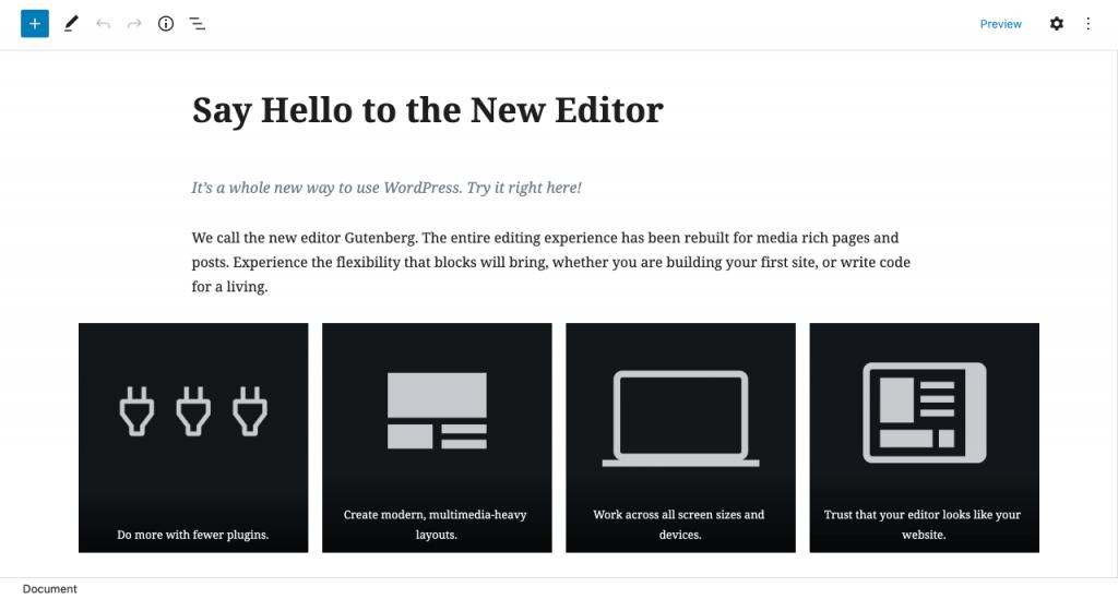 Come usare Gutenberg per creare una landing page con WordPress