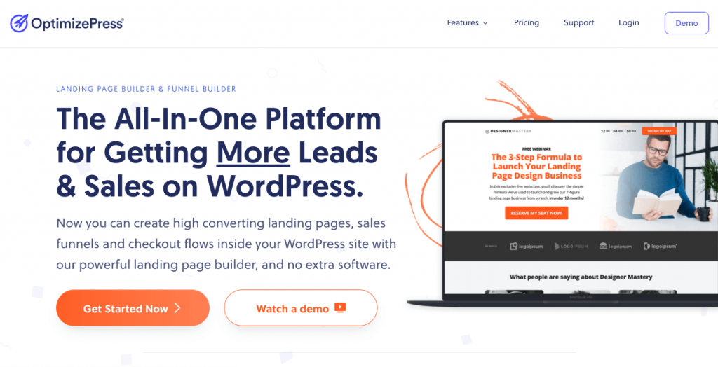 Come usare Optimizepress per creare una landing page su WordPress - OptimizePress® Landing Page Builder for WordPress