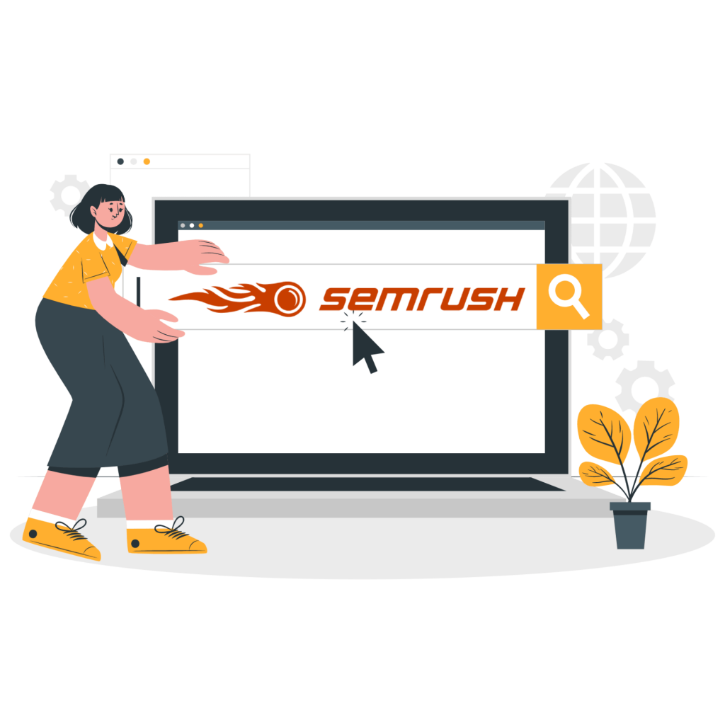 How to use semrush - how semrush works - how to do keyword research with semrush itali