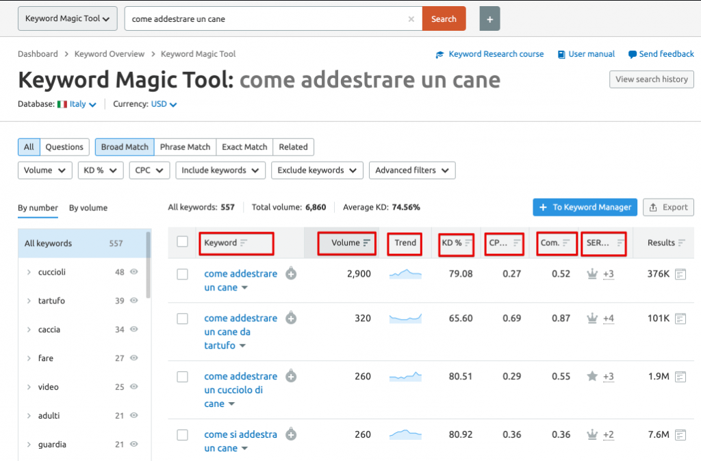 How to use semrush italy for the first time - Semrush tutorial and review (1)