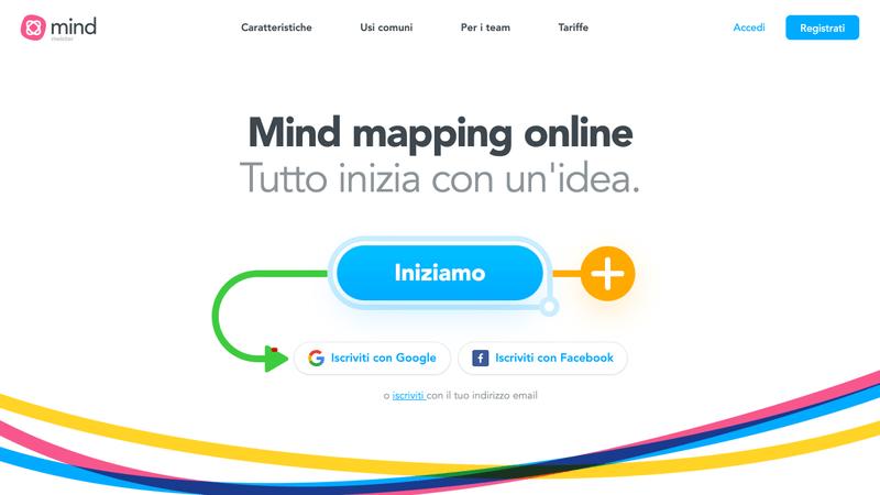 Crea le tue mappe mentali online - Su qualsiasi dispositivo _ MindMeister - programma per creare mappe concettuali online