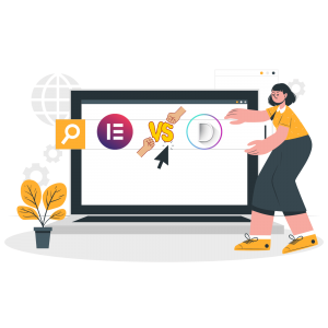 Elementor VS Divi- besser Divi oder Elementor- Unterschiede zwischen den beiden besten Page Builders für WordPress auf dem Markt (1)