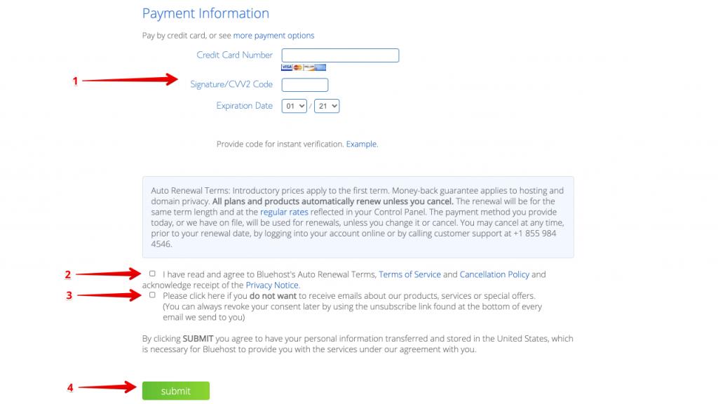 Schritt 7 - wie man ein erfolgreiches Blog erstellt - Anleitung für Anfänger, um ein Blog von Grund auf neu zu starten Tutorial kaufen Domain und Hosting mit bluehost