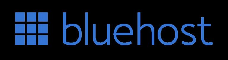 Risorse WordPress: migliori hosting per WordPress - Bluehost logo transparent