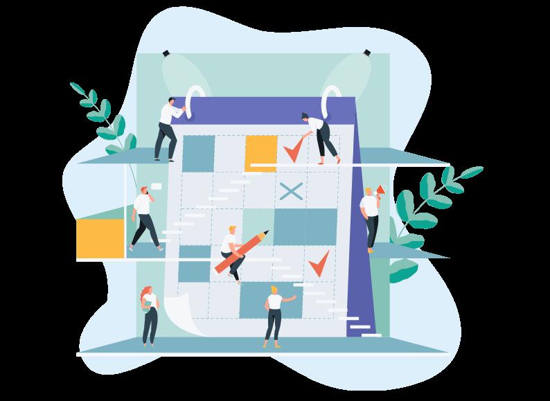 Cómo hacer un plan de negocios - Plan de negocios para una empresa, blog, sitio web - Plan editorial -