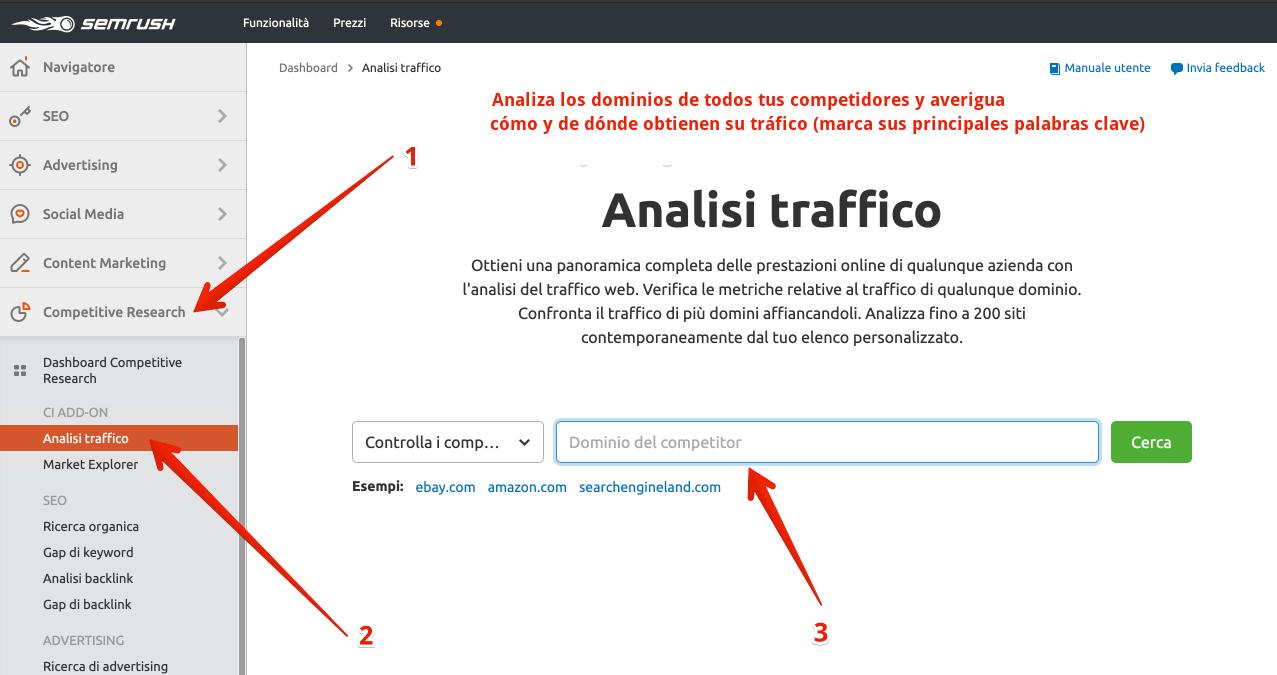Cómo usar SEMrush para aumentar el tráfico del blog - análisis del tráfico de la competencia e investigación de palabras clave (1) (2)