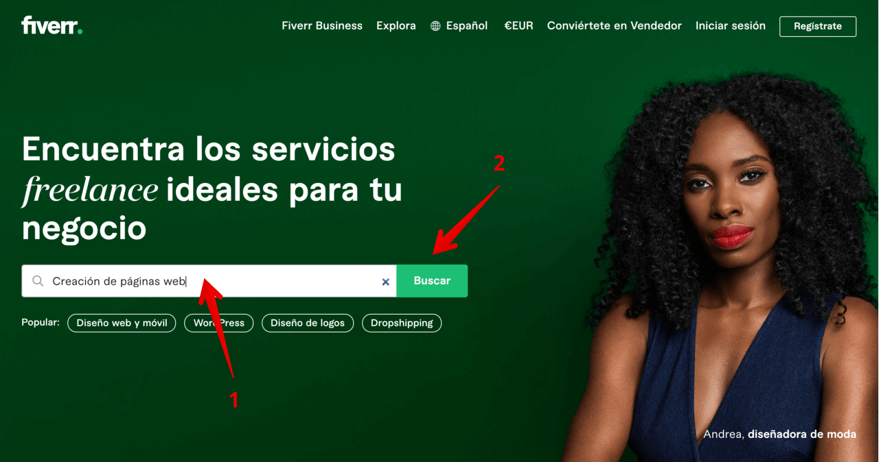 Fiverr - Mercado de servicios freelance para empresas - fiverr italia opinions and review - how to use fiverr - how fiverr works