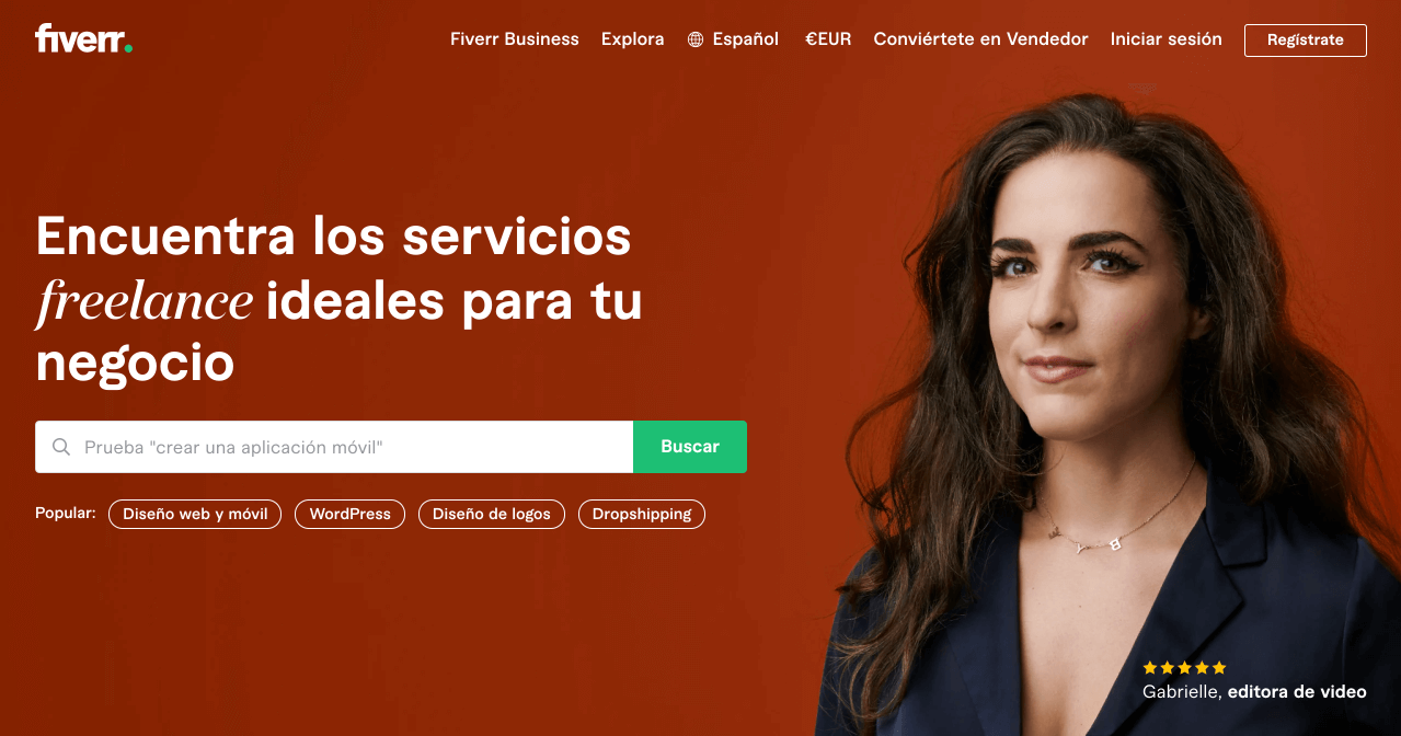 Fiverr - Mercado de servicios freelance para empresas - fiverr italia opinions and review - how to use fiverr - how fiverr works