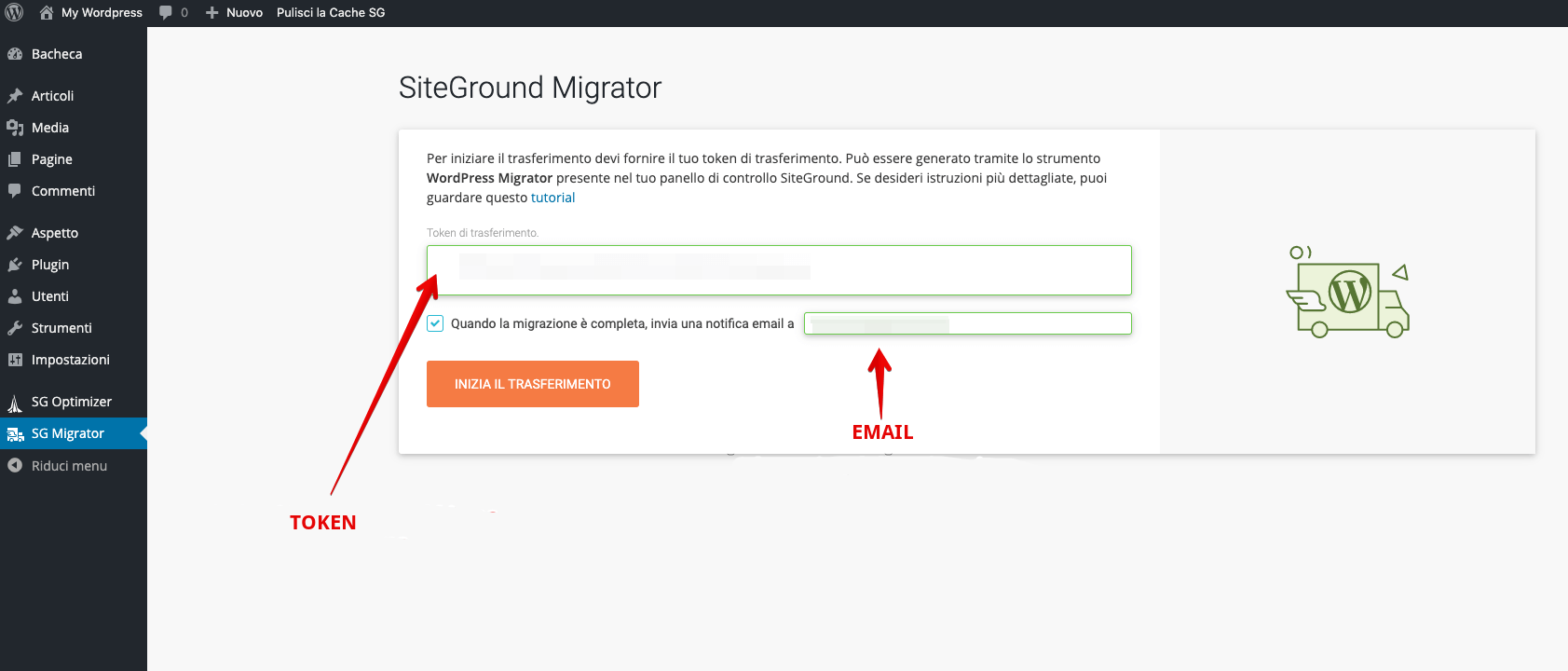 Cómo instalar el migrador siteground en un sitio de wordpress para hacer una migración de un alojamiento a'otro