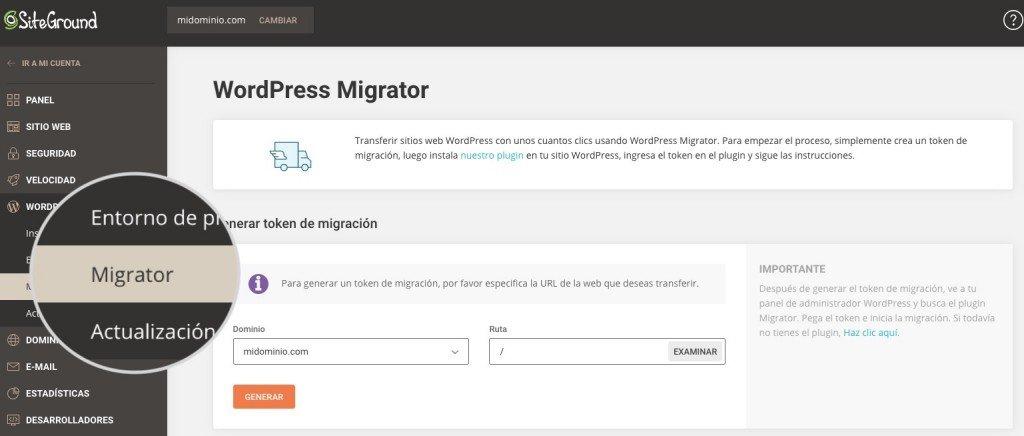 migración con revisiones de siteground - tutorial de migración de siteground (1)